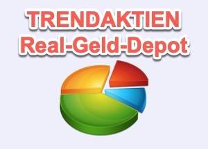 REAL GELD TRENDAKTIEN DEPOT | TRENDAKTIENHAMSTER